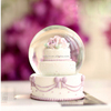 65mm Resin Wedding Snow Globes For