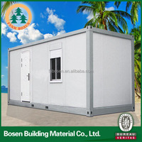 High quality top selling prefab tiny container house on wheels