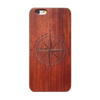 Wood Pattern Hard Case For Iphone 6 Plus 5.5inch Back Cover PC+PU Phone Housing Case For Cell Phone