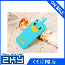 High Quality Cute Animal Custom Silicone Phone Case
