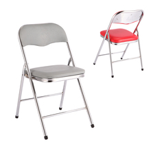 Comfortable Chromed High Back Wedding Folding Chairs Outdoor