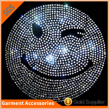 Fancy Simle Wholesale Hot Fix Rhinestones Motif