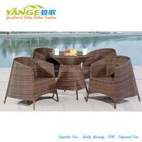 outdoor garden cafe table chair set