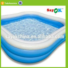 2015 large plastic inflatable adult water pool rental