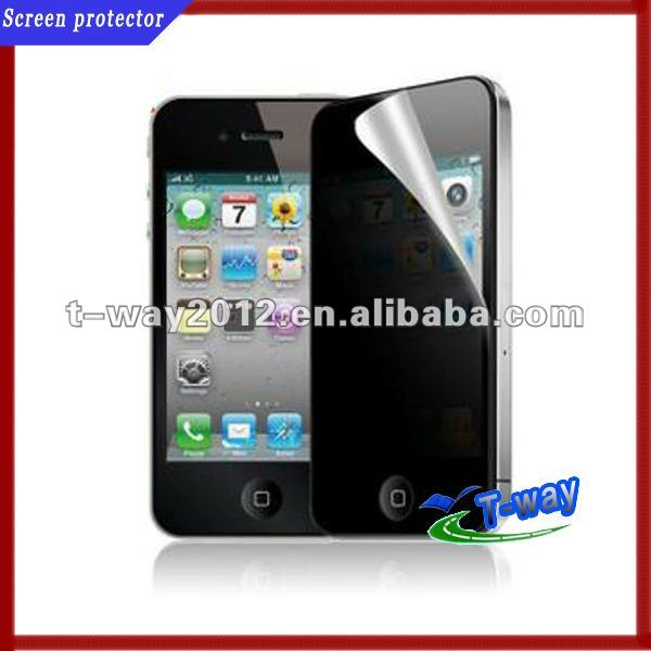 BLACK PRIVATE 3M PRIVACY ANTI PEEP SCREEN PROTECTOR FOR APPLE iPHONE 5 5G NEW