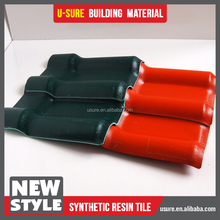 Top grade synthetic artificial roof tiles for canopy roof