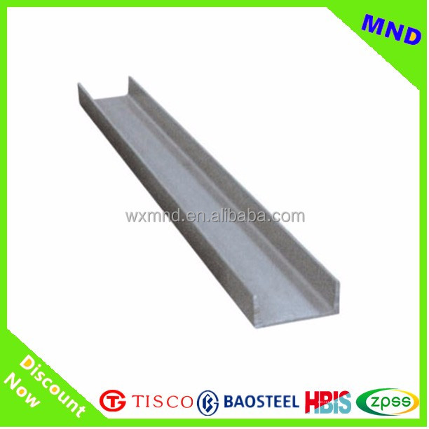 Q235 material cold rolled c steel profile/section/channel