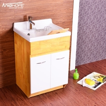 New type cabinet laundry tub washtub washing sink with washboard