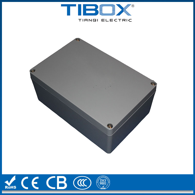 RAL7038 IP66 LV aluminum extrusion enclosure,electronics aluminum box