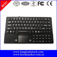 Mini Silicone Rubber Keyboard with touchpad
