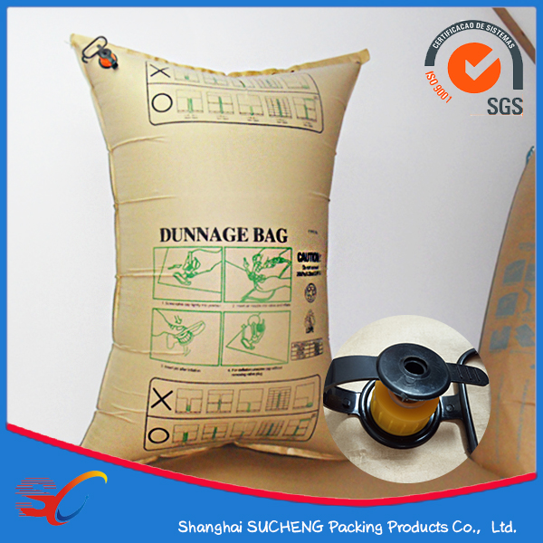 Inflatable Kraft Paper Valve Bag Air Dunnage Bag