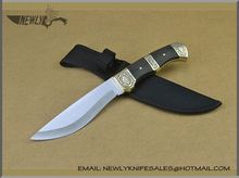 Collection Rubber Handle Hunting Knife With Led Light