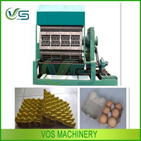 China supplied egg tray making machine/paper egg tray making machine/machine to make egg trays price
