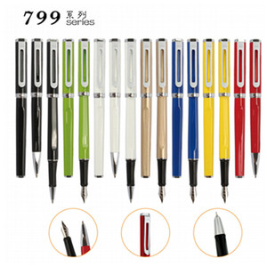 JINHAO brand 799 series Best Quality metal Fountain Pen With Colorful For School Students