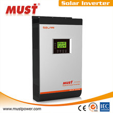 `< MUST POWER>pumps solar generators solar hybrid inverter on off grid tie 3000va 2400w built-in MPPT solar charge controler 60A