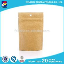 Widely Use High Quality New Design Washable Kraft Paper Bag