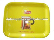 Melamine tray with Lipton priting & melamine serving tray