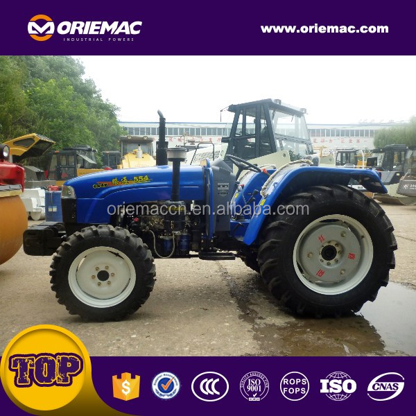 Cheap <strong>price</strong> 55hp 4wd hydraulic farm tractor LT554 for sale