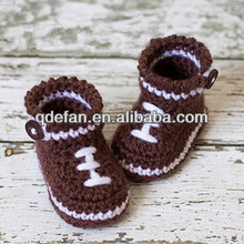 2014 new cute hand made baby shoes crochet baby walking shoes