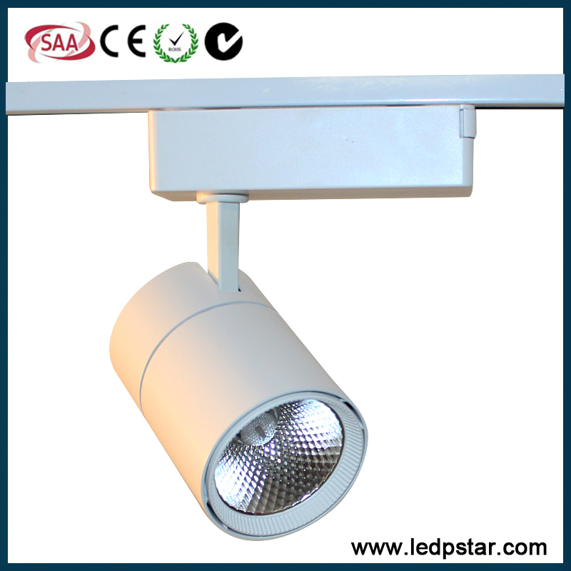COB LED track light 10w 20w 30w white or black cob led track light 20 watt led track spotlamp