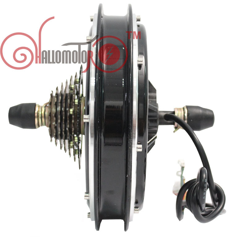 Wholesale 24V 500W Electric Bicycle Ebike Brushless Gearless Hub Motor 2015 New Style Most Powerful Kits Rear Wheel Motor