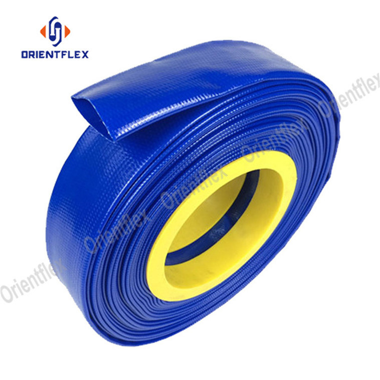 cheap farm pipe/pvc layflat hose for agriculture irrigation system