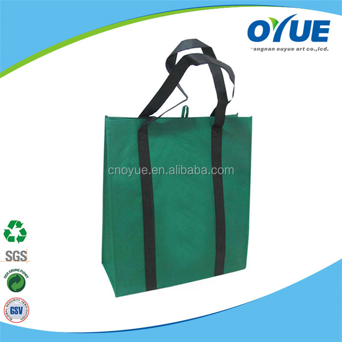 New style wholesale reusable non woven wine bag