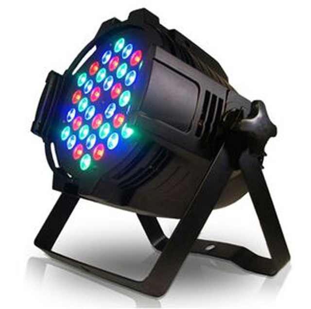 New design DMX 8CH indoor 54pcs 3in1 par light 3w club par light