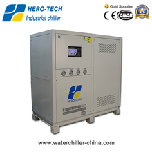 10HP water cooled low temperature water cooled chiller manufacturer from China