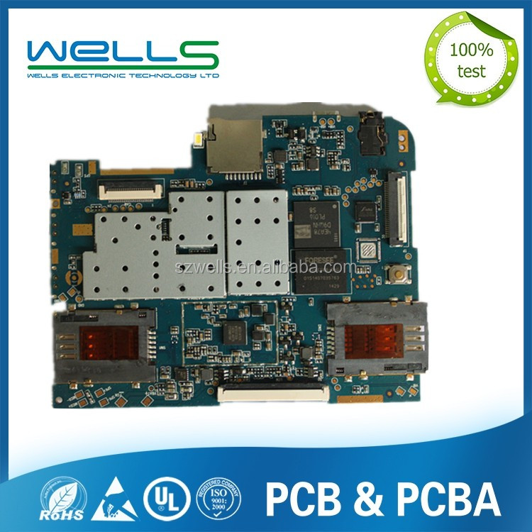 lcd tv part screen pcb lcb printed circuit board 0.8mm multilayer circuit board