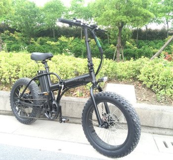 20inch 350W fat tire folding electric bike