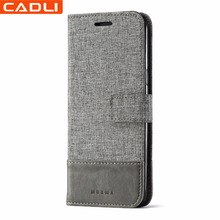 New Arrival Magnetic Flip Leather Mobile Phone Case for Samsung Galaxy S8