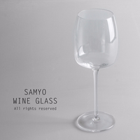 samyo high qulity small transparent crystal clear red wine glass
