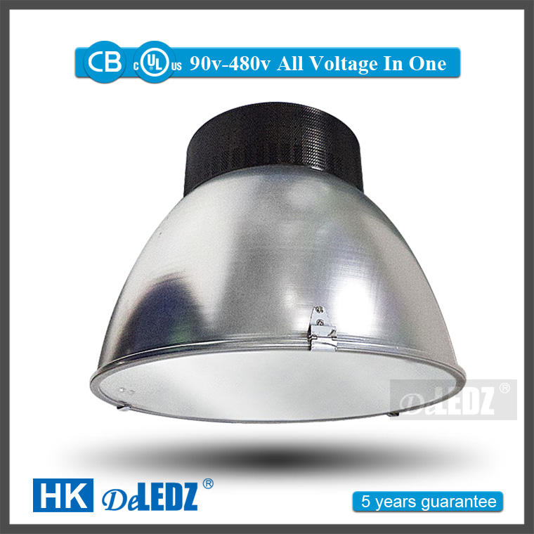 5 year warranty aluminum housing high baylight ip44 waterproof industrial dimmable led high bay light 120w