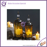 Moroccan Outdoor Garden Metal Lantern Candle Holders