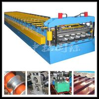 roof tile press machine, metal processing line