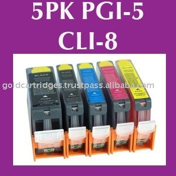 Compatible ink cartridge for canon PGI-5BK