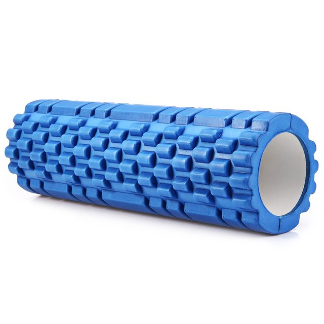5 Colors Yoga Foam Roller Eco-friendly High Density Fitness Floating Point EVA Roller Physio Massage Pilates with Trigger Points