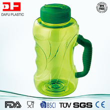 BPA Free big capacity tritan plastic bottle 1500ml clear plastic bottle wholesale gym water bottle