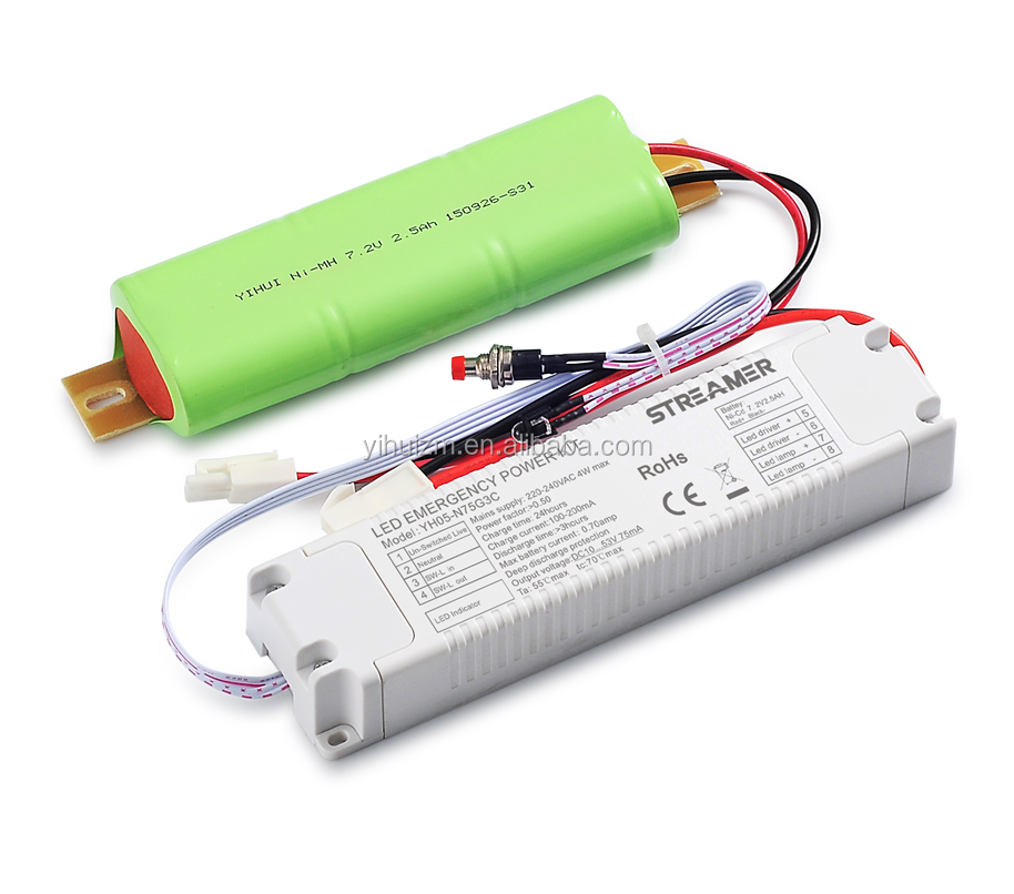 SAA certificate STREAMER YH05N75G2B Emergency Light 3W LED Driver