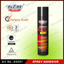 textile spray glue