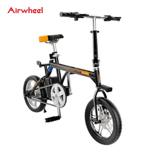 Airwheel New Design Folding Electric Moped Bike/Bicycle 2017