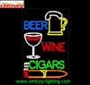 beer wine cigars animated led sign