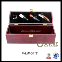 Hot selling small wooden gift boxes wine box wholesale