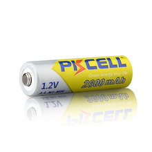 Hot sale PKCELL 2800mAh/2600mAh AA 1.2V NiMH Rechargeable Batteries