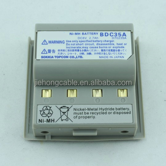 Instrument accessories BDC35 battery used to Sokkia SET-22/32/42D