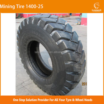 Bias Off-The- Road Tire E3A Mining Tire 1400-25