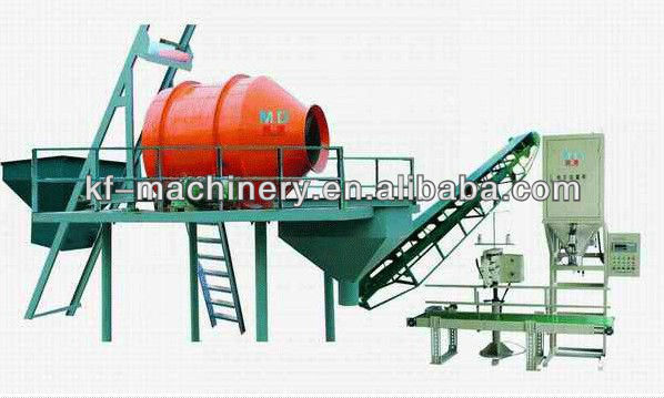Kefan Hot Saling High Quality Organic Fertilizer Production Line With Best Price