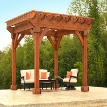 thermowood outdoor pergola gazebo garden with high quality