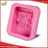 Christmas gift silicone square bar soap molds